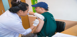 Nepal's best vaccination center - Vaccination in Friendly Clean Comfortable Environment
