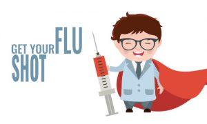 Get your flu shot, Influenza Vaccination at Kathmandu