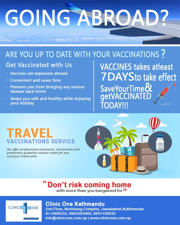 vaccines for travellers and international students