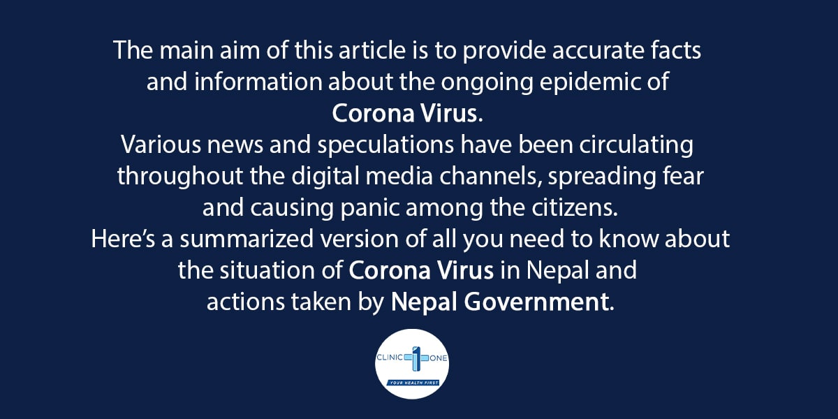 Corona Virus in Nepal- Government actions