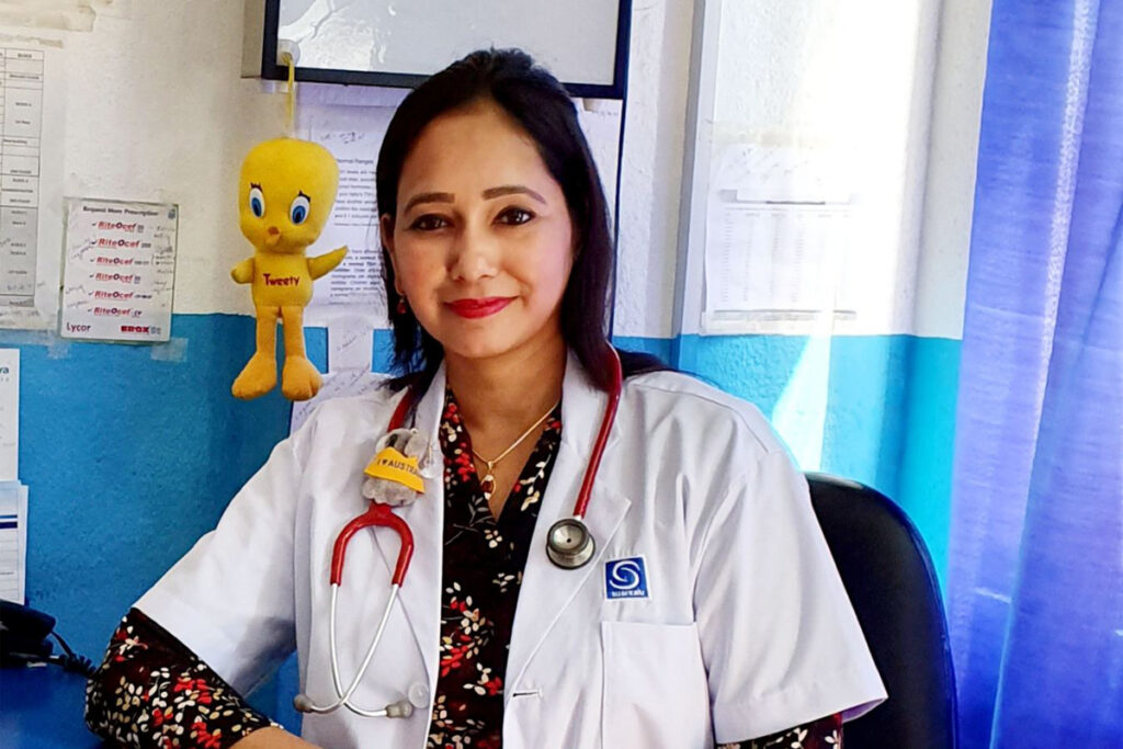 Dr. Kabita Keyal pediatrician