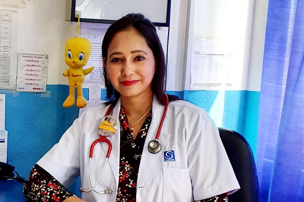 Dr. Kabita Keyal pediatrician