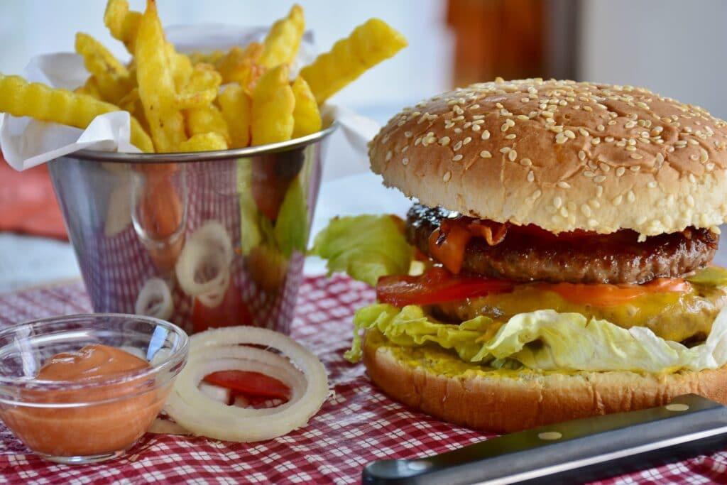 junk food unhealthy diet